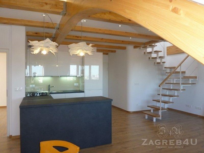 Polunamješten stan 80 m2 u potkrovlju Pantovčak