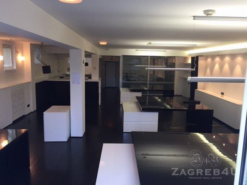 Zagreb - Medveščak - poslovni prostor za najam (120m2) Wickerhauserova