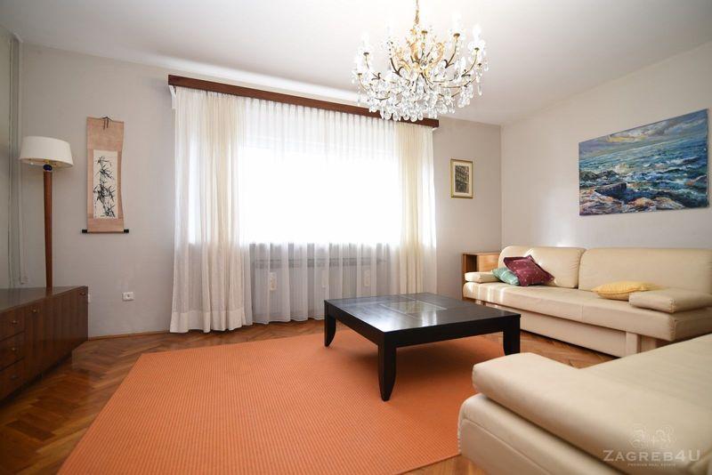 Zagreb - Maksimir - 3-sobni-stan sa terasom za najam 96 m2 - Bukovačka