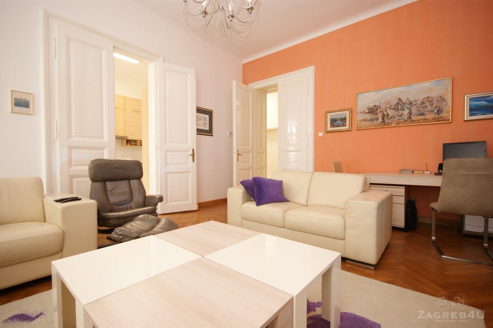 Zagreb - Centar - 4-sobni stan za najam (126 m2) - Teslina