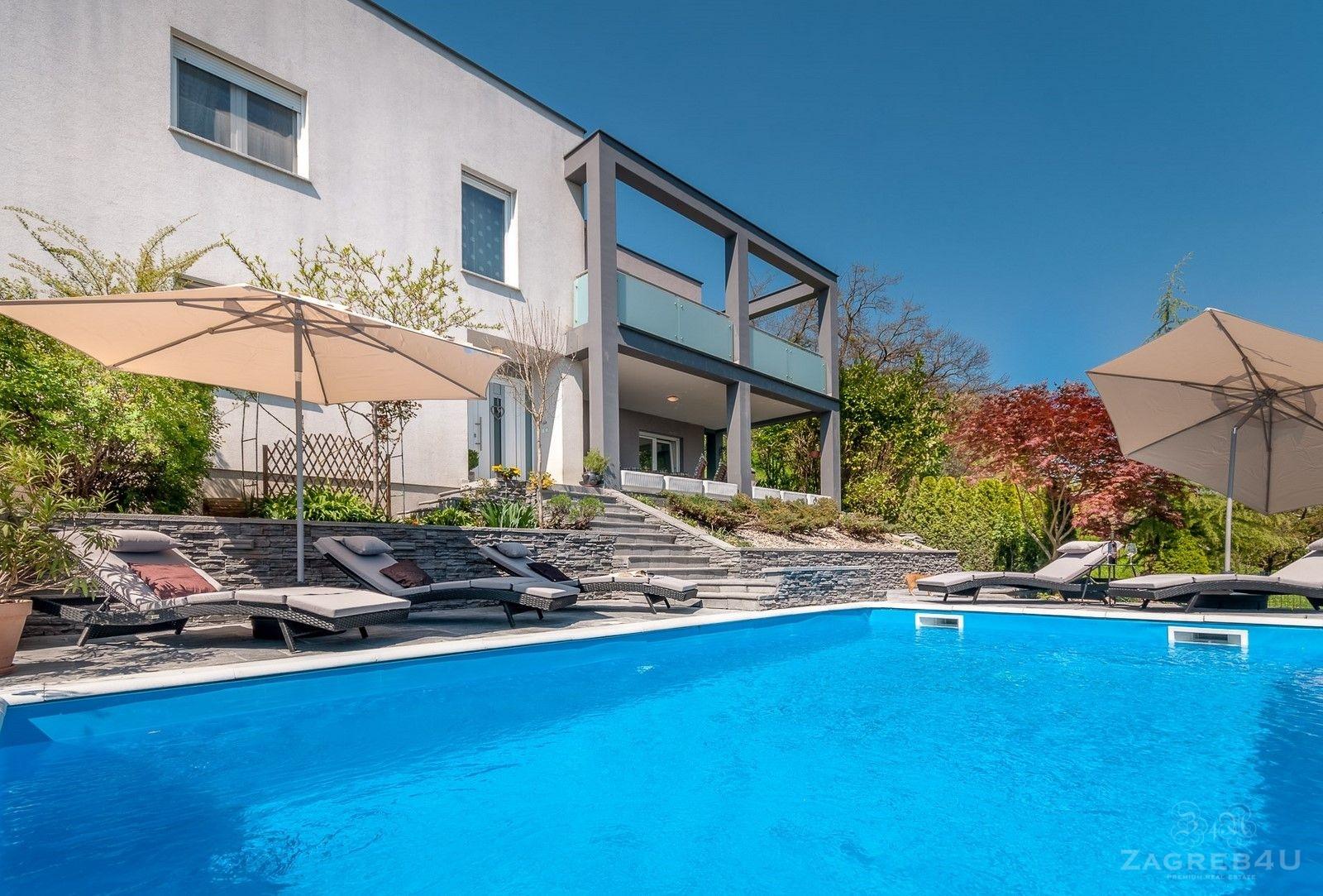 Samobor - modern villa with swimming pool - Long term rent