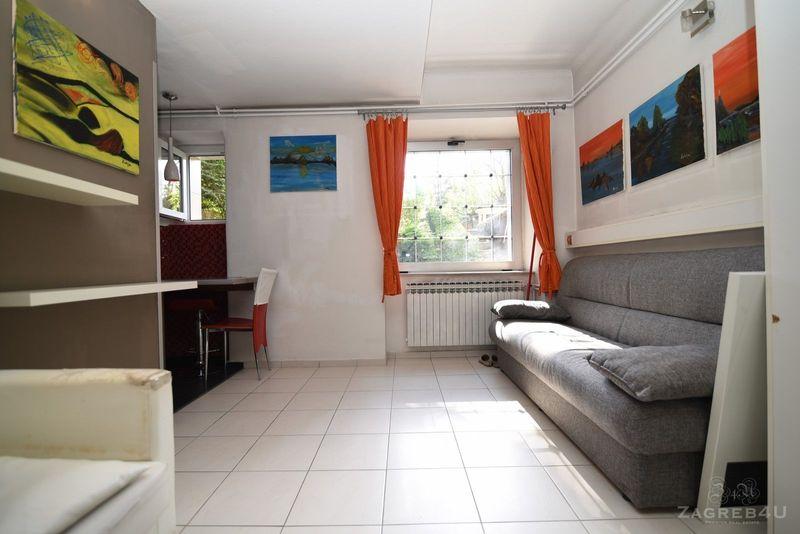 Zagreb - Centar - 2-sobni stan za najam u zelenilu - 32 m2 - Erdodyja