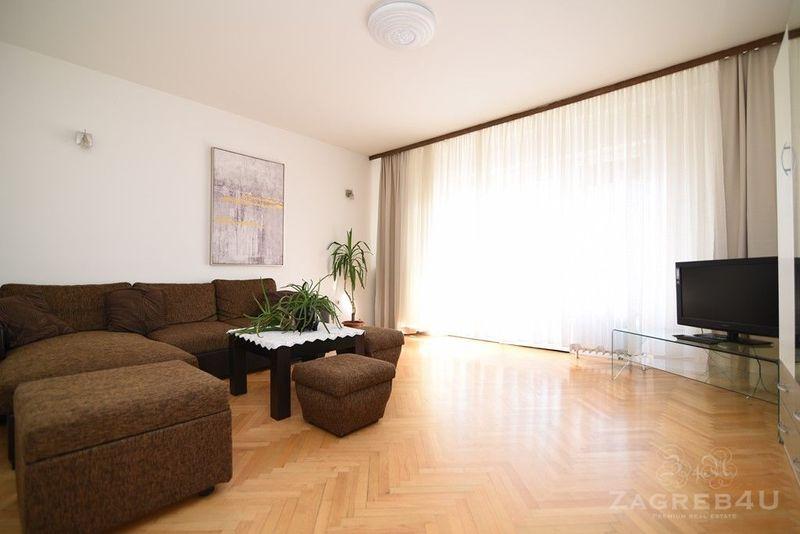 2sobni stan za najam u obiteljskoj kući 70 m2 + balkon 6 m2 Trešnjevka
