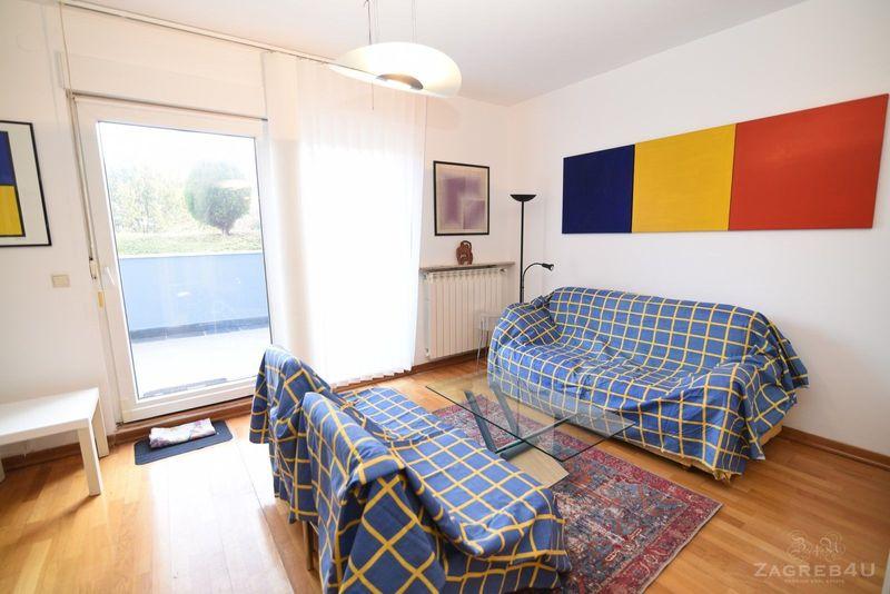 Zagreb - Centar - 3-sobni stan za najam (50 m2) terasa 15 m2 -Nazorova