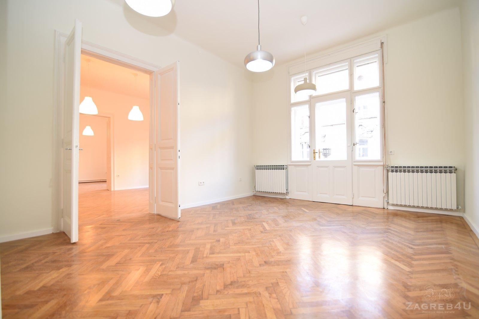 Zagreb - Centar - 4-sobni prostor za najam (110 m2)+balkon - Đorđićeva