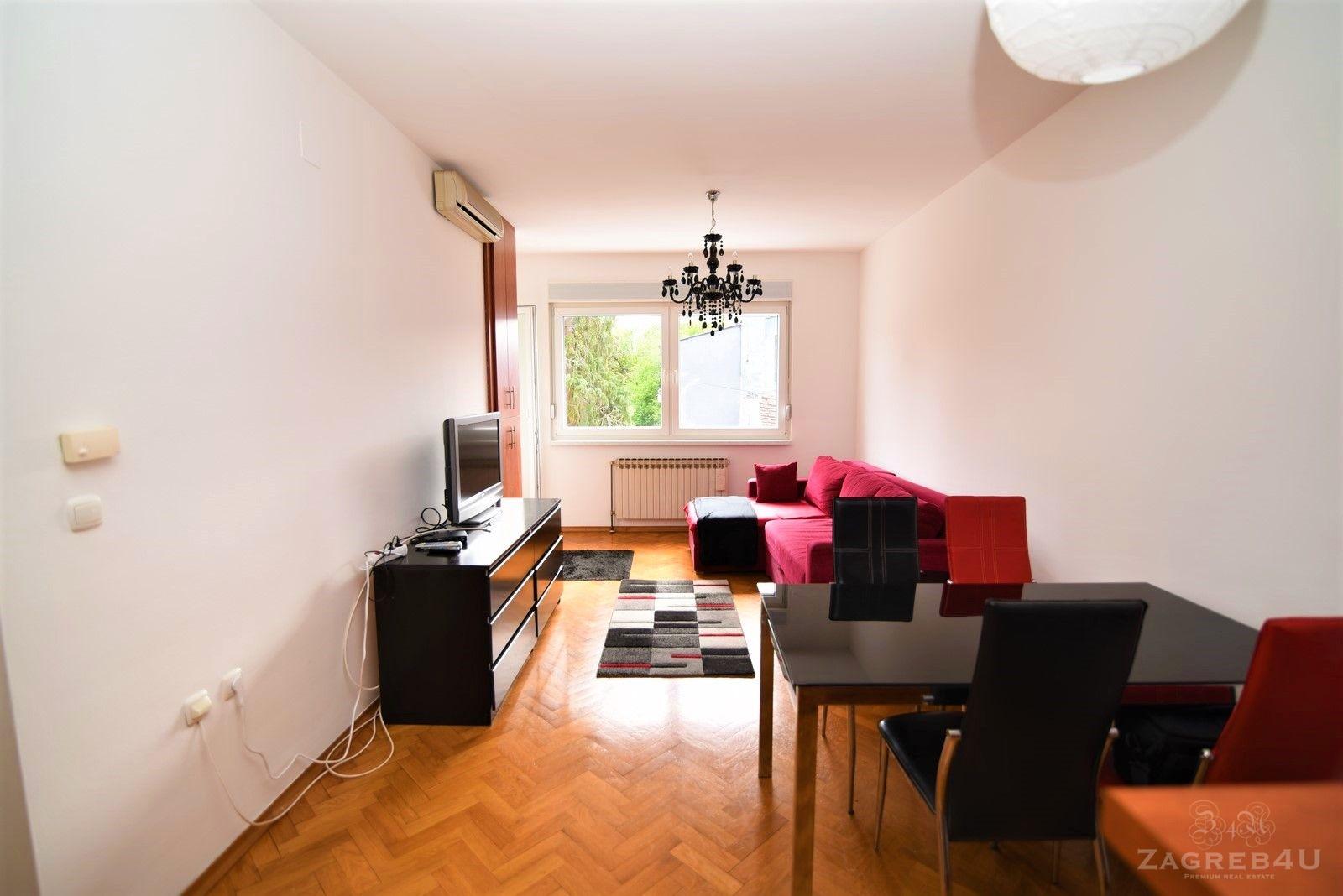 Zagreb - Centar - 2-sobni stan za najam (45 m2) + balkon - Nad Lipom