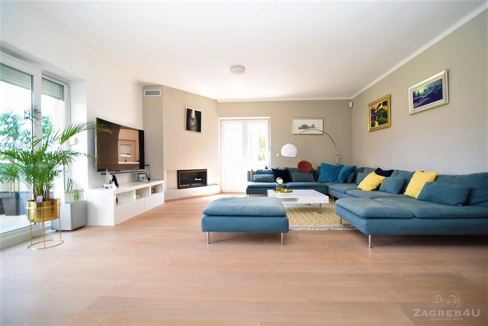 Zagreb - Mlinovi - luksuzna kuća za najam (350 m2) sa garažom i vrtom