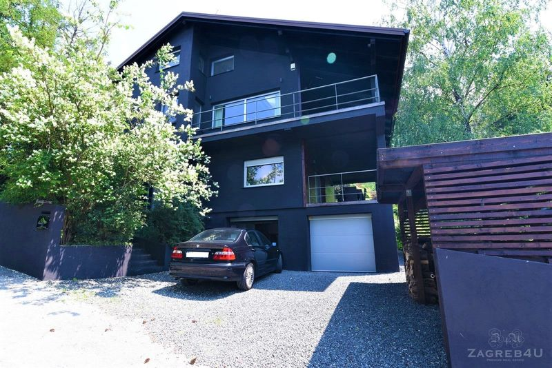 Kuća u zelenilu (240m2) sa vrtom od 1500m2 +garaža - okolica Zaprešića
