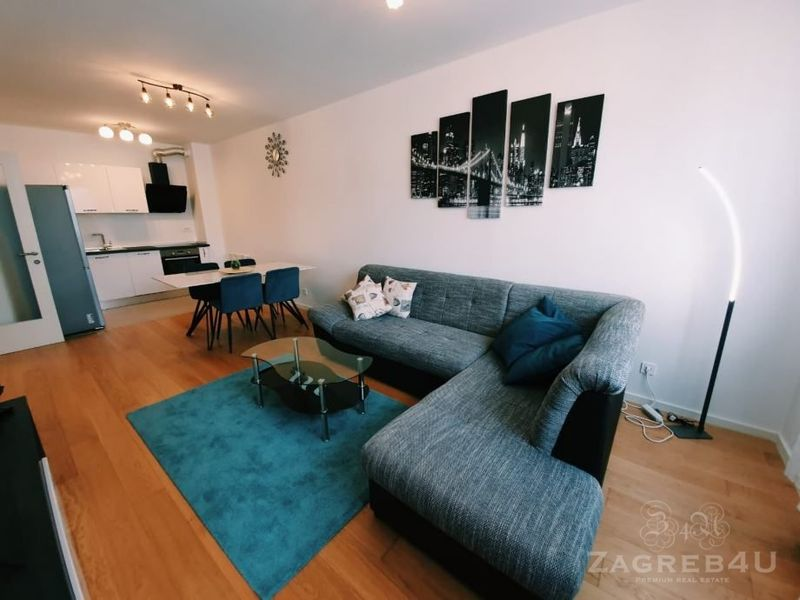 Novi stan za najam, 2 spavaće, parking - Domobranska - Zagreb