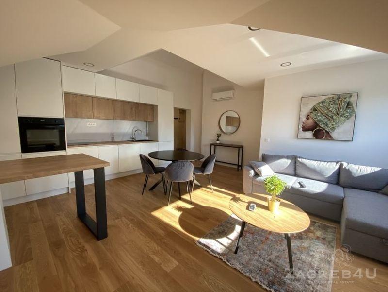 Trnje novi 4sobni stan za najam s parkingom - 92m2