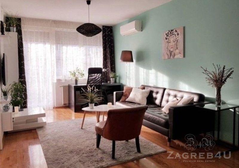 Predivan stan 65 m2 na atraktivnoj lokaciji Trešnjevka