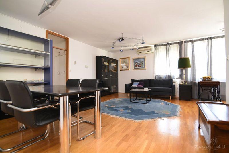 Odličan stan za najam u Grahorovoj, Zagreb - 2spavaće, 75m2 garaža